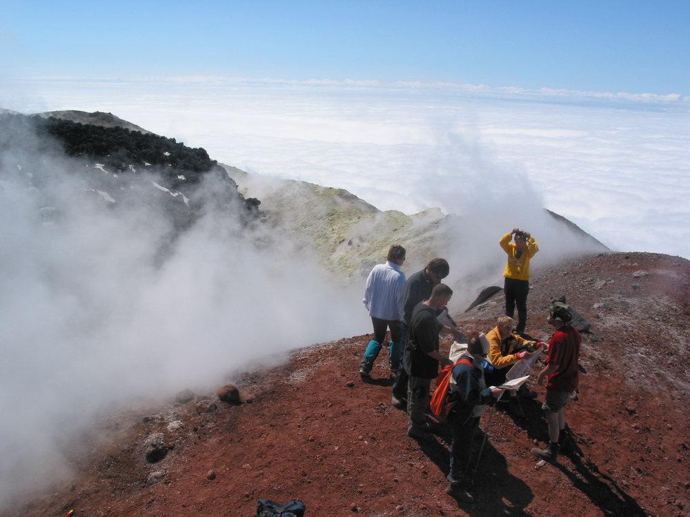 Восхождение на Авачинский вулкан (однодневное)